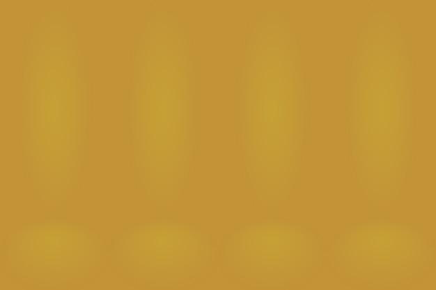 Abstracte luxe gouden studio goed te gebruiken als achtergrondlay-out en presentatie