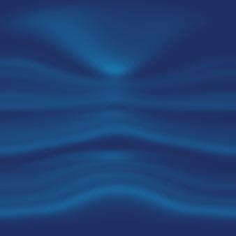 Abstracte luxe gradiënt blauwe achtergrond. glad donkerblauw met zwarte vignet studio banner.