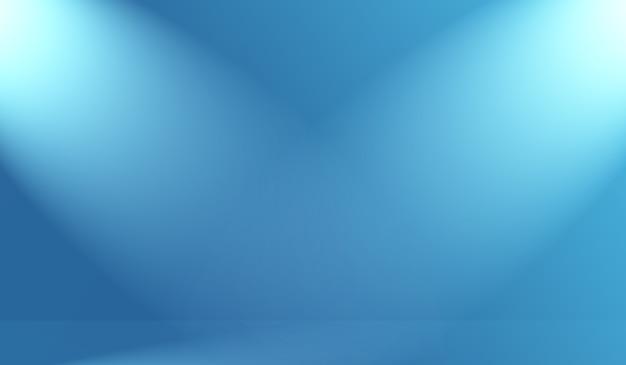 Abstracte luxe gradiënt blauwe achtergrond glad donkerblauw met zwarte vignet studio banner