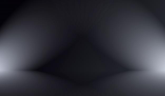 Abstracte luxe vervagen donkergrijs en zwart verloop, gebruikt als achtergrond studio muur voor het weergeven van uw producten.