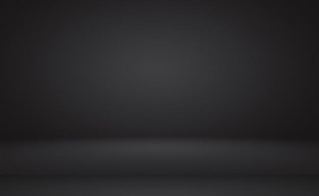 Abstracte luxe vervagen donkergrijs en zwart verloop, gebruikt als achtergrond studiomuur voor het weergeven van uw producten. Gratis Foto