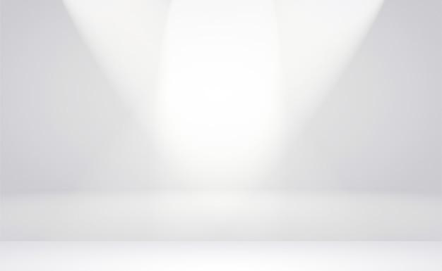 Abstracte luxe vervagen donkergrijs en zwart verloop, gebruikt als achtergrondstudiomuur voor het weergeven van uw producten.