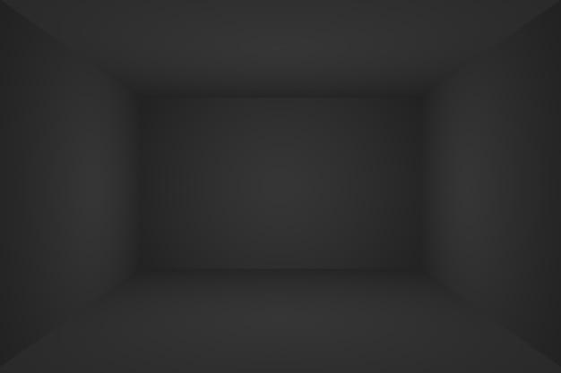 Abstracte luxe vervaging donkergrijs en zwart verloop gebruikt als achtergrondstudiomuur voor het weergeven van uw pr...