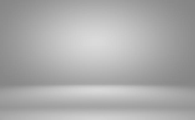 Abstracte luxe vlakte vervagen grijs en zwart verloop, gebruikt als achtergrond studio muur voor het weergeven van uw producten.
