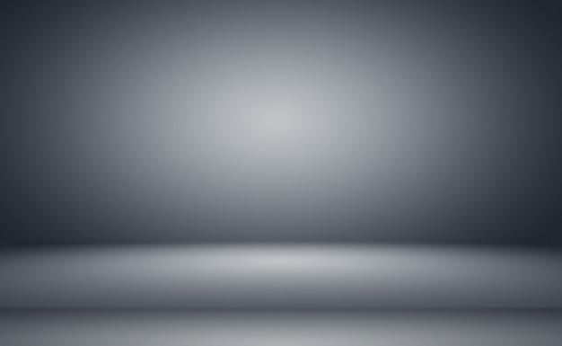 Abstracte luxe vlakte vervagen grijs en zwart verloop