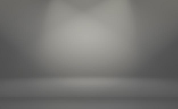 Abstracte luxe vlakte vervagen grijze en zwarte achtergrond met kleurovergang
