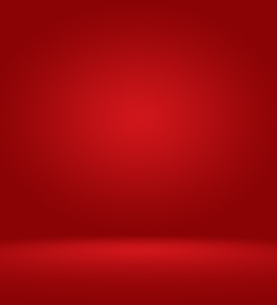 Abstracte luxe zachte rode achtergrond christmas valentines lay-outontwerp, studio, kamer, websjabloon, bedrijfsrapport met vloeiende cirkel kleur voor de kleurovergang.