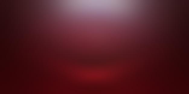 Abstracte luxe zachte rode achtergrond christmas valentines lay-outontwerp, studio, kamer, websjabloon, bedrijfsrapport met vloeiende cirkel kleur voor de kleurovergang. Premium Foto