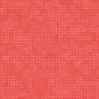 Abstracte luxe zoete pastel roze toon muur vloer tegel glas naadloze patroon mozaïek
