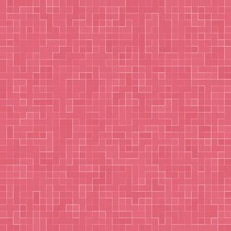 Abstracte luxe zoete pastel roze toon muur vloer tegel glas naadloze patroon