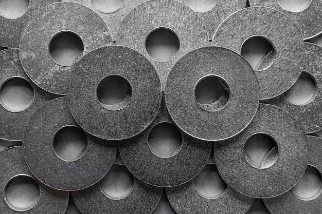 Abstracte metalen achtergrond close-up