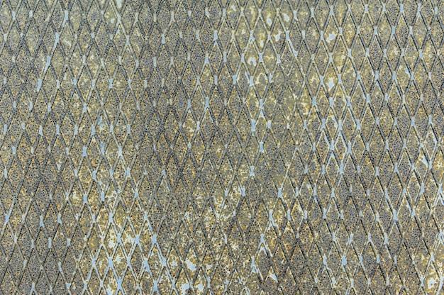 Abstracte metalen textuur achtergrond. oud oppervlak in roest en vuil in groene kleur.