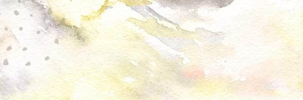 Abstracte moderne aquarel met goud glitter textuur achtergrond voor ontwerp, banner omslagstijl
