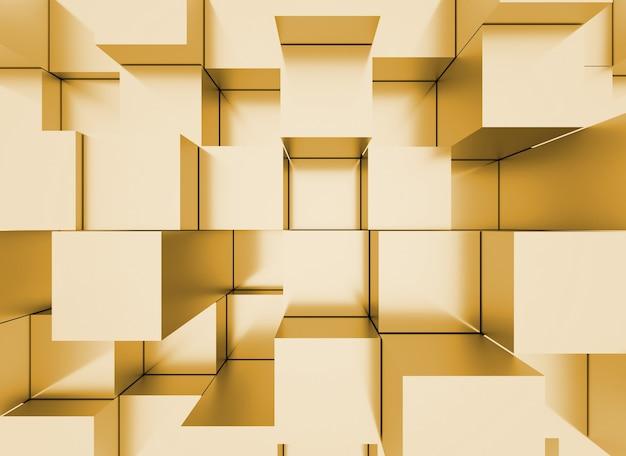 Abstracte mozaïek driedimensionale achtergrond