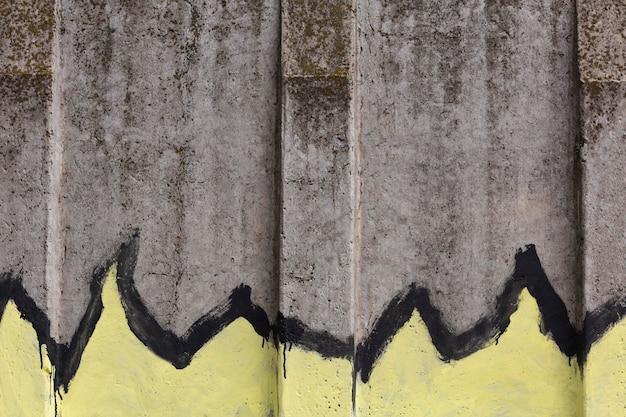 Abstracte muurschildering graffiti behang