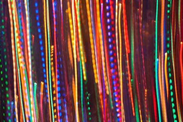 Abstracte neonlichtachtergrond