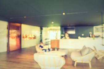 Abstracte onduidelijk beeldkoffiewinkel en restaurant