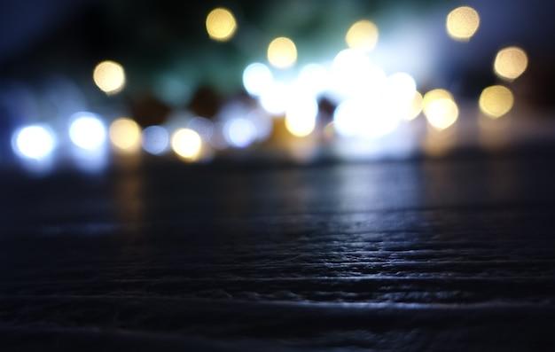 Abstracte onscherpe achtergrond en lichten