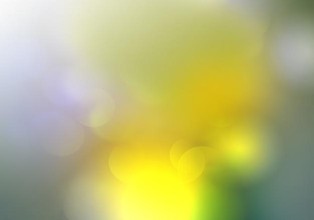 Abstracte onscherpe achtergrond met lentekleuren