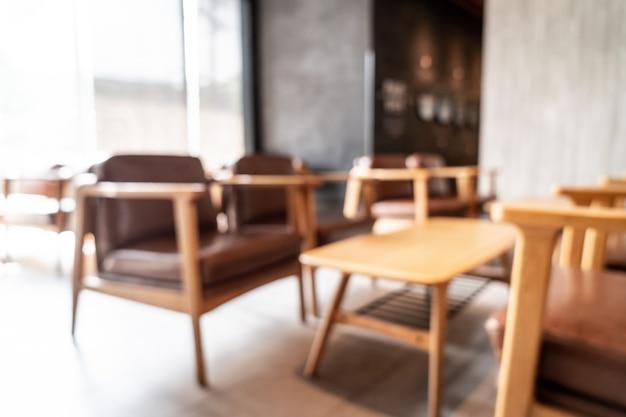Abstracte onscherpte en defocused in coffeeshop café