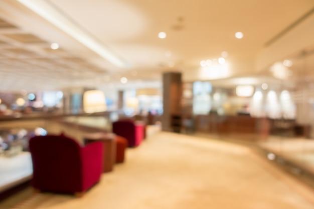 Abstracte onscherpte lobby