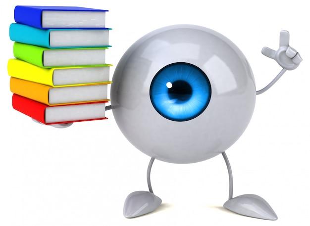 Abstracte oog illustratie