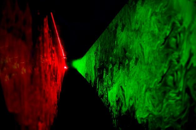 Abstracte optische laserachtergrond