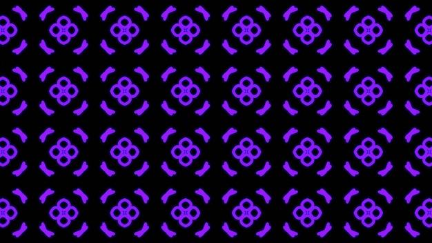 Abstracte paarse geometrische naadloze patroonachtergrond premium foto