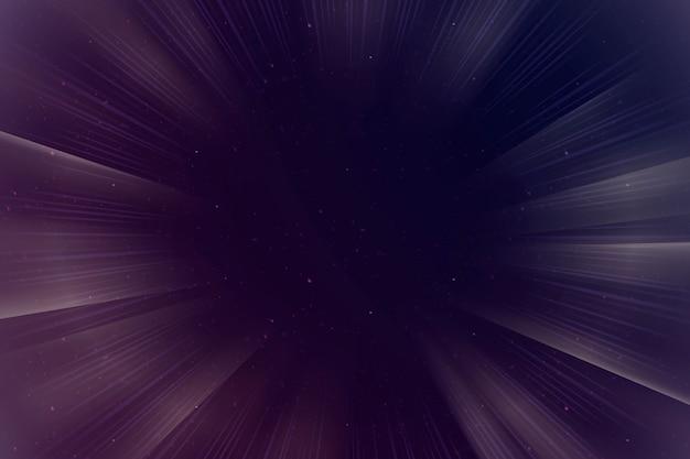 Abstracte paarse zonnestraal grenskader