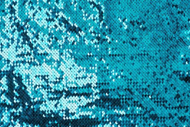 Abstracte pailletten blauwe glitter golf textuur