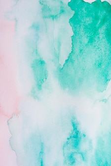 Abstracte pastel blauwe aquarelle achtergrond