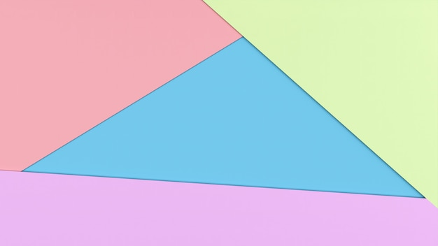 Abstracte pastel kleurrijke papier textuur achtergrond