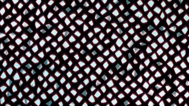 Abstracte patroonachtergrond van gebroken stukken van een spiegel abstracte geometrische achtergrond