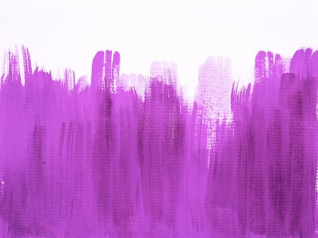 Abstracte penseelstreken zwart en paars. aquarel textuur achtergrond