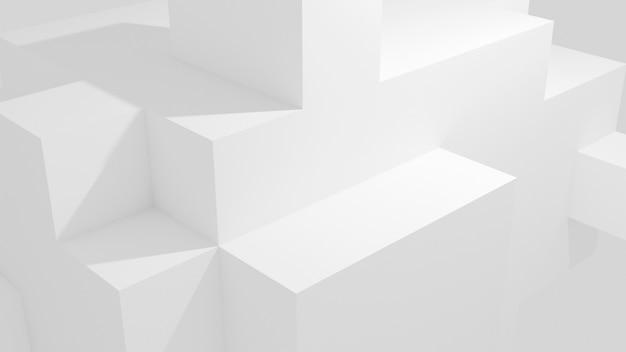 Abstracte productstandaard 3d