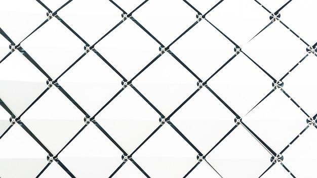 Abstracte rechthoek vierkant gevouwen patroon witte verloop
