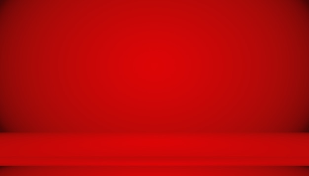 Abstracte rode achtergrond kerstmis valentines lay-outontwerp, studio, kamer, websjabloon, bedrijfsrapport met vloeiende cirkel verloopkleur