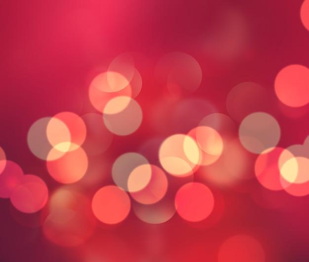 Abstracte rode achtergrond met bokeh-effect