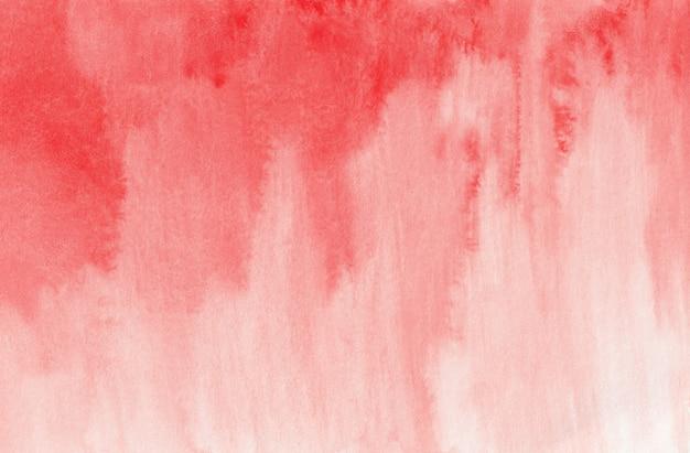 Abstracte rode aquarel achtergrondstructuur, digitaal papier