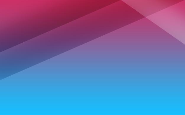 Abstracte rode en blauwe achtergrondillustratie
