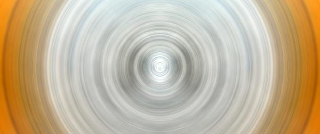 Abstracte ronde witte en gele achtergrond