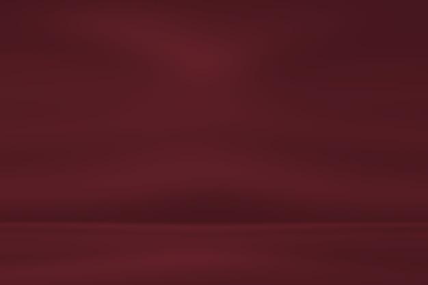 Abstracte rood licht studio achtergrond met verloop.