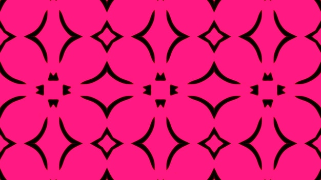 Abstracte roze geometrische naadloze patroonachtergrond premium foto