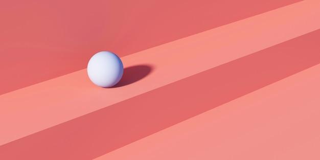 Abstracte roze minimalisme geometrie