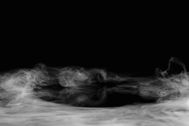 Abstracte ruimtebehangachtergrond, donker rookontwerp