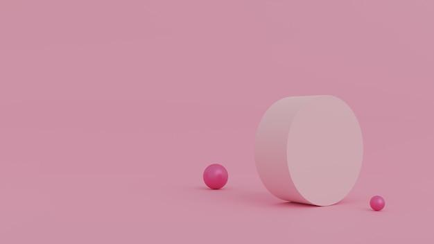 Abstracte scène voor productvertoning