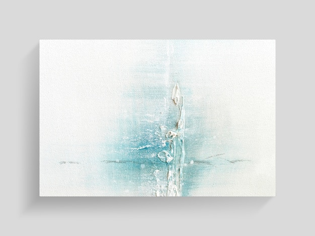 Abstracte schilderkunst op canvas textuur achtergrond. close-up afbeelding.