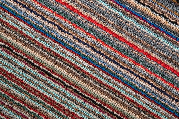 Abstracte stof volledige kleur lijn textuur achtergrond