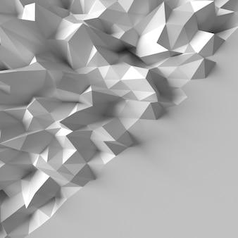 Abstracte veelhoekige geometrische driehoek achtergrond