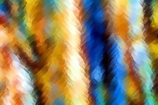 Abstracte verf uitstrijkjes